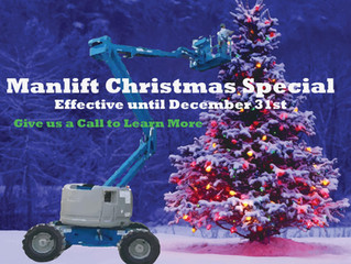 Manlift Holiday Special!