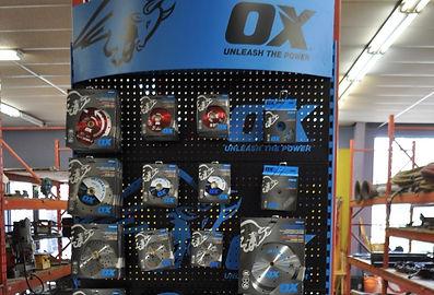 Ox Blades Red Deer Sunder Alberta Retail Dealer