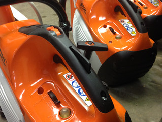 NEW STIHL SAWS!