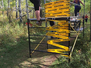 Snake Challenge {Scaffold Obstacle Course}