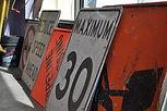 Construction Signs Red Deer Sundre Alberta