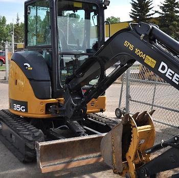 John Deere 35 Excavator Sundre Alberta Red Deer