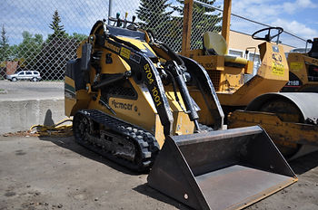Vermeer Mini Skid Steer Specs Track Red Deer Sundre Alberta
