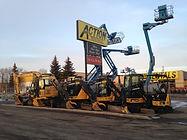 Construction Signs Alberta Rentals