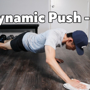 5 Dynamic push ups that's challenging and fun!