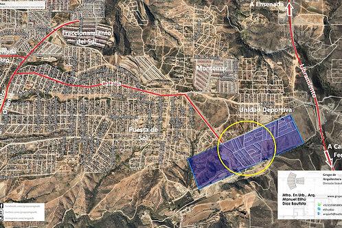 Ensenada, Baja California. Puerto Azul, 101 viviendas
