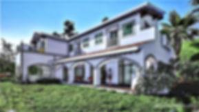Diseño arqitectónico de casa estilo californiano