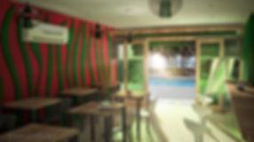 Arquitecturainterior restaurante y fonda en Quintana Roo
