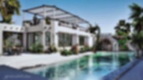 Diseño de exteriores, amenidades, paisae, jardines, abercas, Bahía Chaué Huatulco