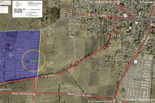 Zumpango, Estado de México. Santa Isabel, 19 terrenos urbanizados