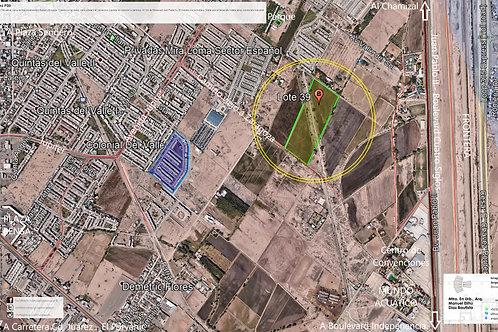 Ciudad Juárez, Chihuahua. Parcela P39