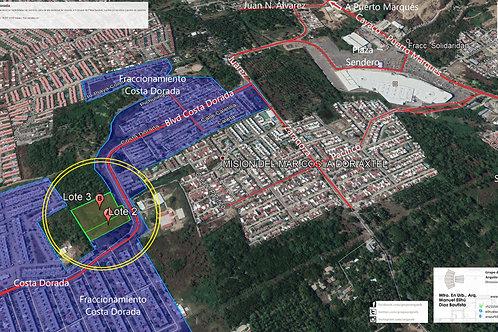 Acapulco, Guerrero. Costa Dorada, Terreno urbanizado sobre vialidad primaria