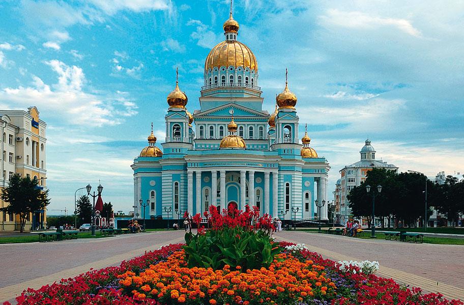 Saransk iglesia central