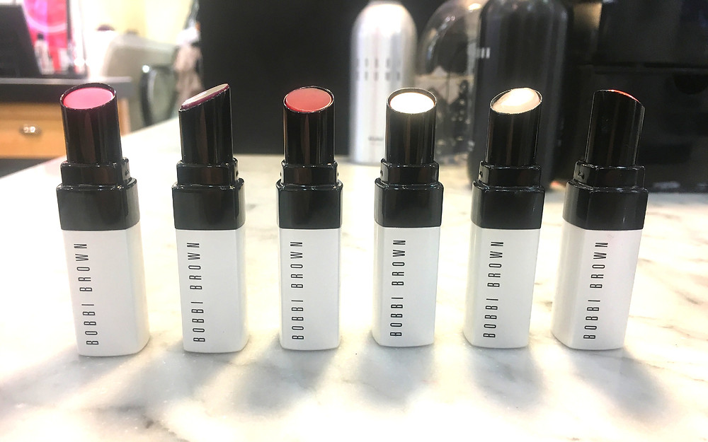Bobbi Brown Extra Lip tints available in 6 shades price point £25.50
