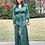 Thumbnail: Emerald Green Long Flow Dress