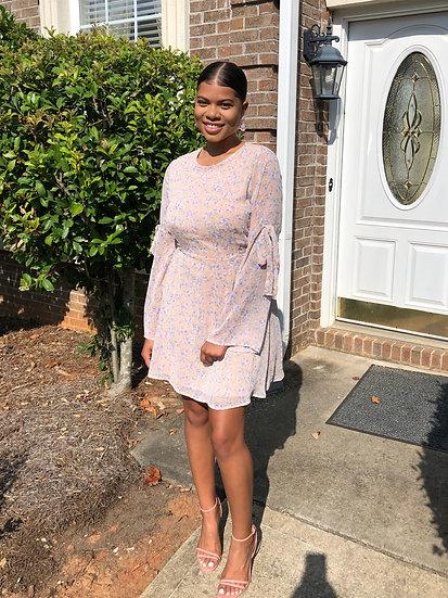 Floral Blush Day Dress