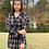 Thumbnail: Black Plaid Dress