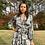 Thumbnail: Snake Print Wrap Dress