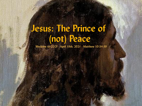 Podcast - Jesus, the Prince of (Not) Peace