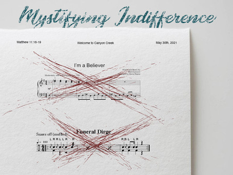 Podcast - Mystifying Indifference