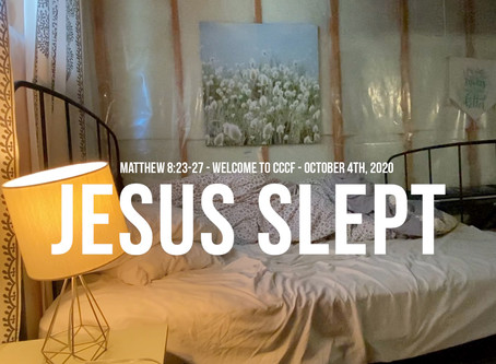 Jesus Slept - Everything You'll Need For Sunday
