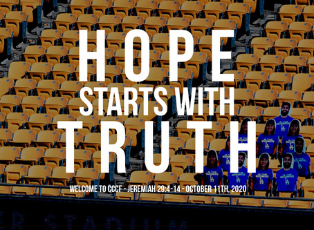Hope Starts with the Truth