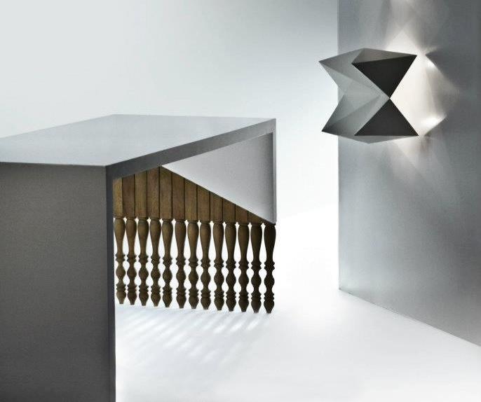 Geomatric Table & Light