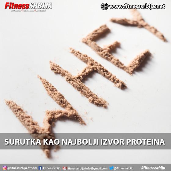 Surutka kao najbolji izvor proteina