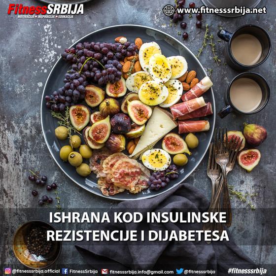 Ishrana kod insulinske rezistencije i dijabetesa