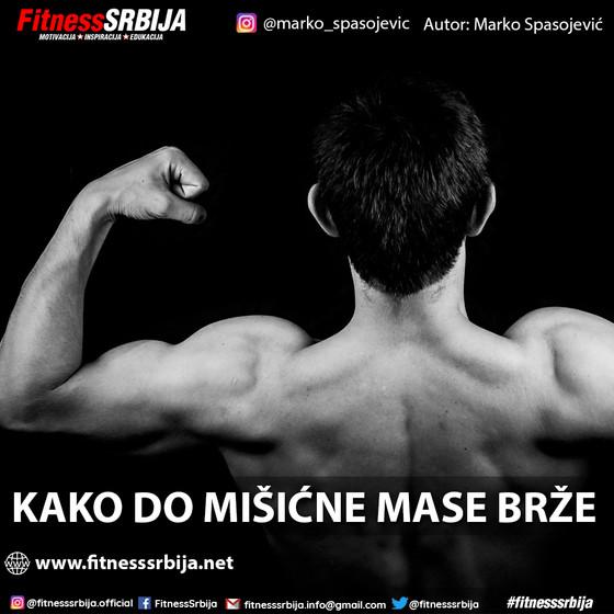 Kako do mišićne mase brže