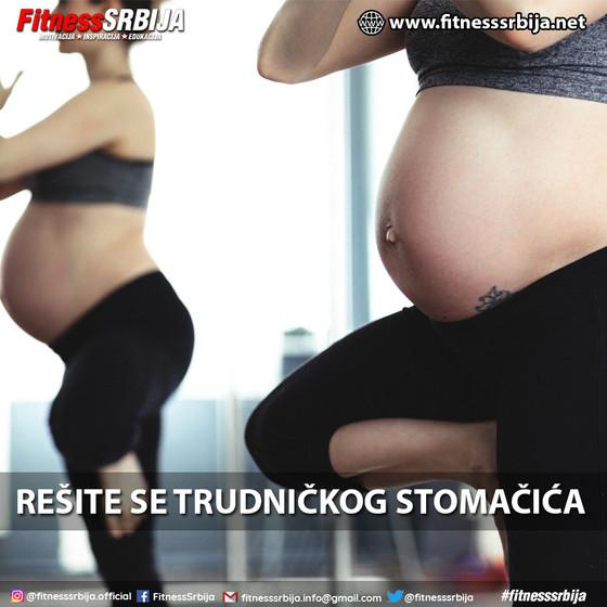 Rešite se trudničkog stomačića