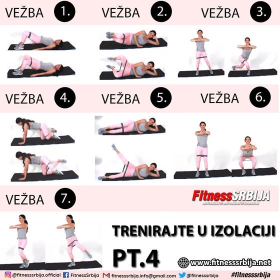 Trenirajte u izolaciji PT.4