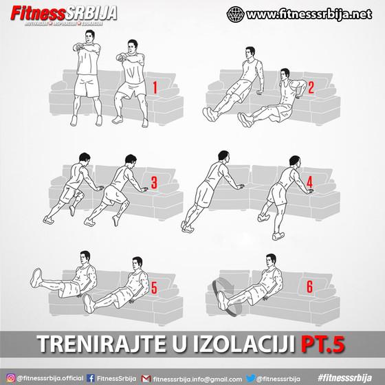 Trenirajte u izolaciji PT.5