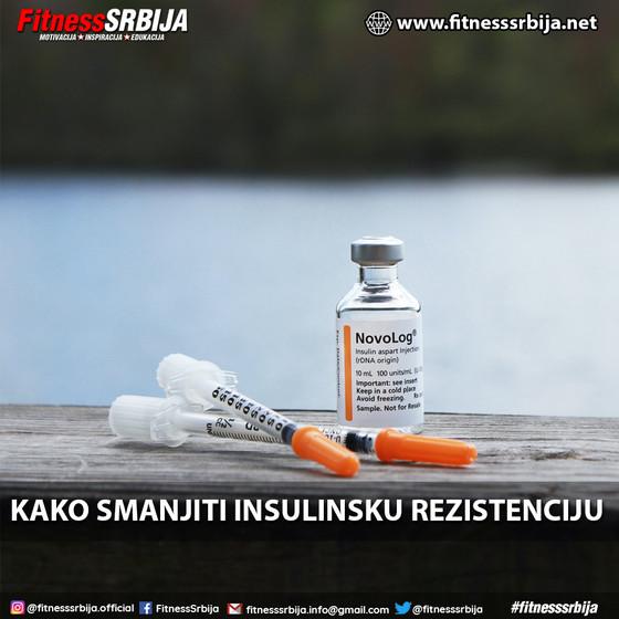 Kako smanjiti insulinsku rezistenciju?