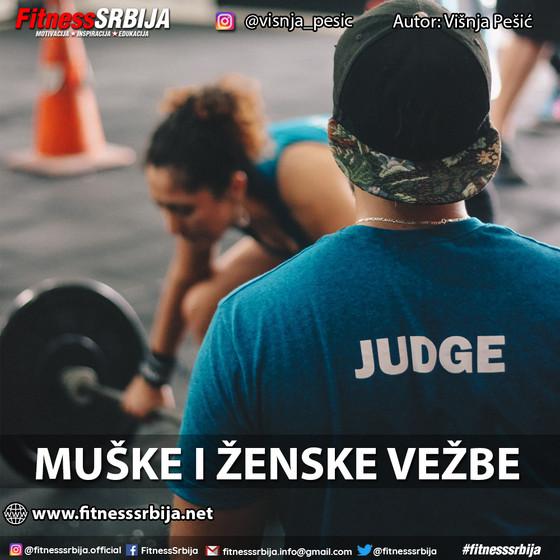 Muške i ženske vežbe