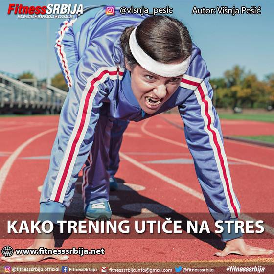 Kako trening utiče na stres