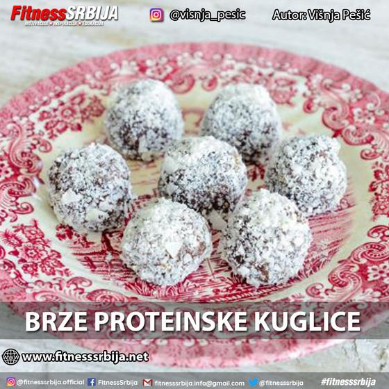 Brze proteinske kuglice
