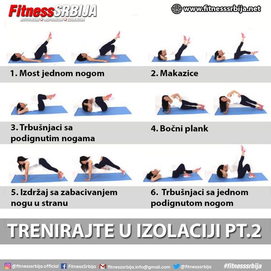 Trenirajte u izolaciji PT.2