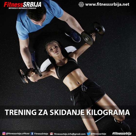 Trening za skidanje kilograma