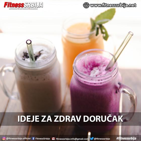 Ideje za zdrav doručak