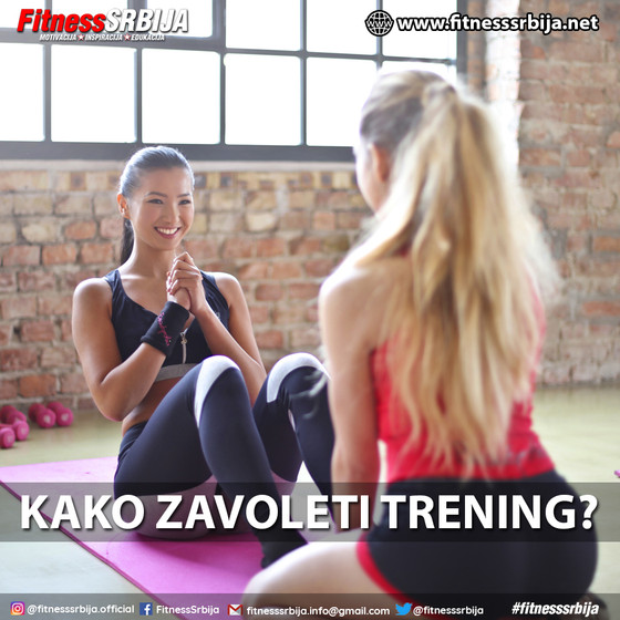 Kako zavoleti trening?