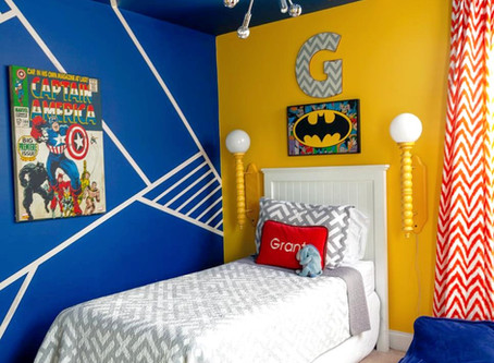 Create a Graphic Wall Pattern with Paint