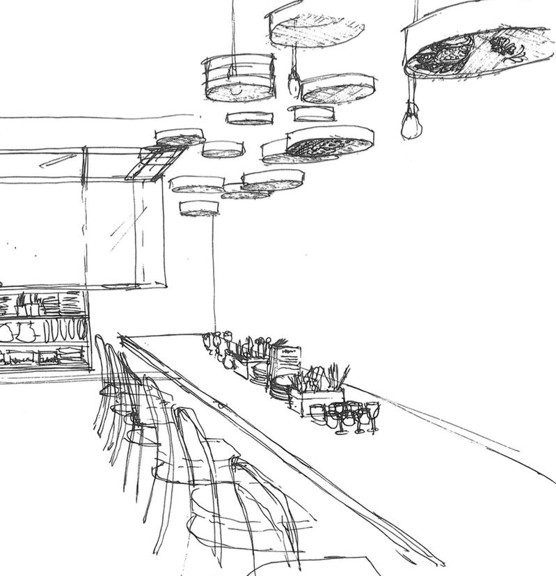 Sauma Restaurant _ Sketch