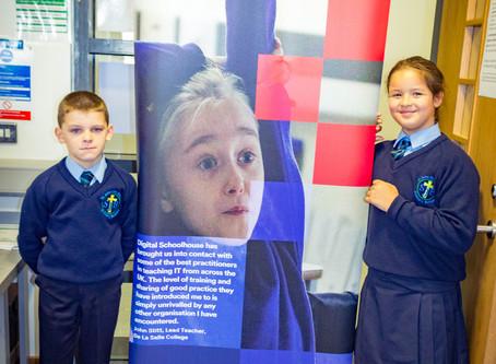 St John the Baptist Visit the Digital Schoolhouse at De La Salle