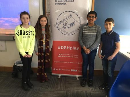 St Claire's Visit the Digital Schoolhouse