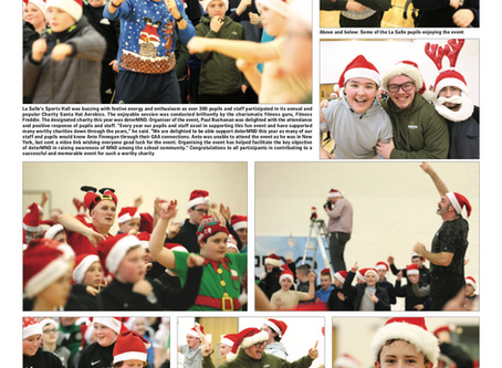 Santa Hat Aerobics in the Andersonstown News