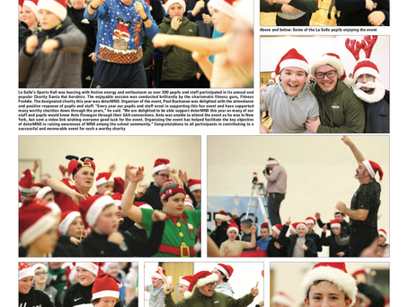 Santa Hat Aerobics in the Andersonstown News