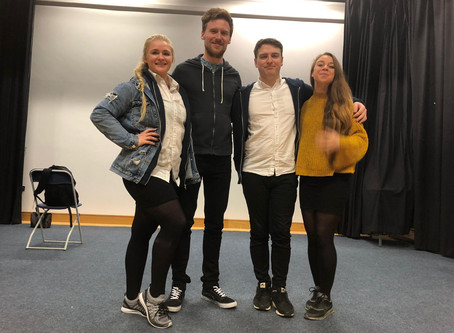 """Y10 watch """"Chelsea's Story"""". A play highlighting the dangers of grooming."""