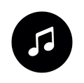 music-icon-in-black-circle-musical-note-