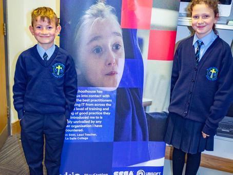 St John the Baptist Visit the Digital School House at La Salle